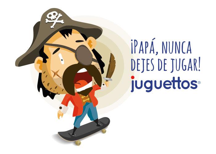pirata dia del padre