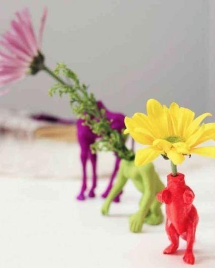 juguetes antiguos maceta juguetes reciclados originales