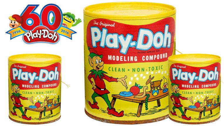 La plastilina Play Doh cumple 60 años